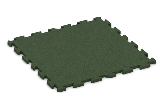 Poolunterlage von WARCO im Farbdesign grasgrün mit den Abmessungen 1000 x 1000 x 30 mm. Produktfoto von Artikel 3368 in der Aufsicht von schräg vorne.