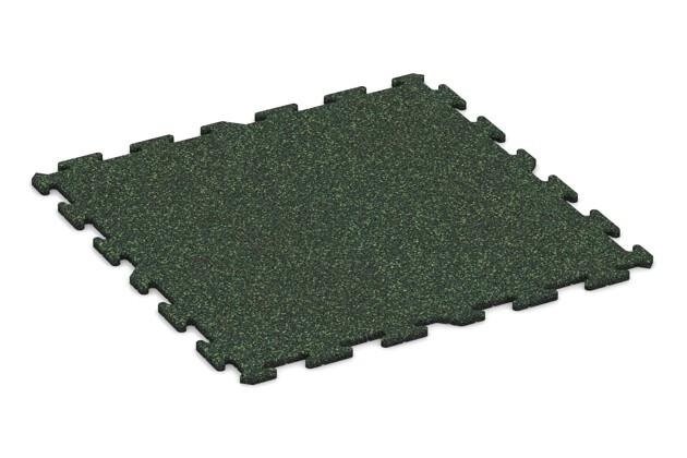 Balkonbelag von WARCO im Farbdesign Englischer Rasen mit den Abmessungen 1000 x 1000 x 18 mm. Produktfoto von Artikel 0261 in der Aufsicht von schräg vorne.