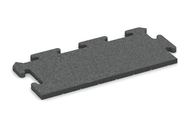 Rand-Abschlussplatte (Zuschnitt) von WARCO im Farbdesign schiefergrau mit den Abmessungen 500 x 235 x 18 mm. Produktfoto von Artikel 4808 in der Aufsicht von schräg vorne.
