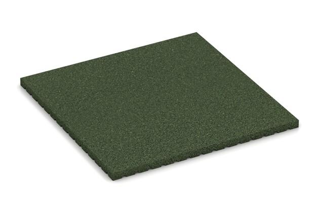 Stallmatte pro von WARCO im Farbdesign grasgrün mit den Abmessungen 1000 x 1000 x 40 mm. Produktfoto von Artikel 3642 in der Aufsicht von schräg vorne.