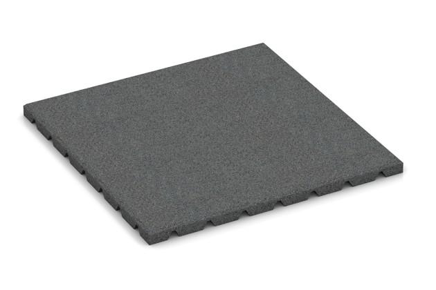 Wandschutzplatte von WARCO im Farbdesign schiefergrau mit den Abmessungen 500 x 500 x 25 mm. Produktfoto von Artikel 0529 in der Aufsicht von schräg vorne.