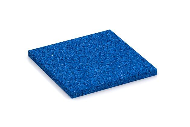 Farbmuster von WARCO im Farbdesign Enzianblau mit den Abmessungen 100 x 100 x 7 mm. Produktfoto von Artikel 4348 in der Aufsicht von schräg vorne.