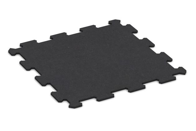 Fitnessmatte von WARCO im Farbdesign anthrazit matt mit den Abmessungen 478 x 478 x 8 mm. Produktfoto von Artikel 0927 in der Aufsicht von schräg vorne.