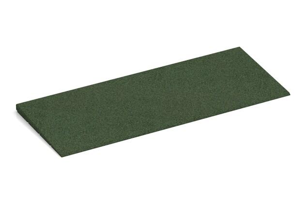 Anti-Stolper-Keil von WARCO im Farbdesign grasgrün mit den Abmessungen 750 x 300 x 25/8 mm. Produktfoto von Artikel 2300 in der Aufsicht von schräg vorne.