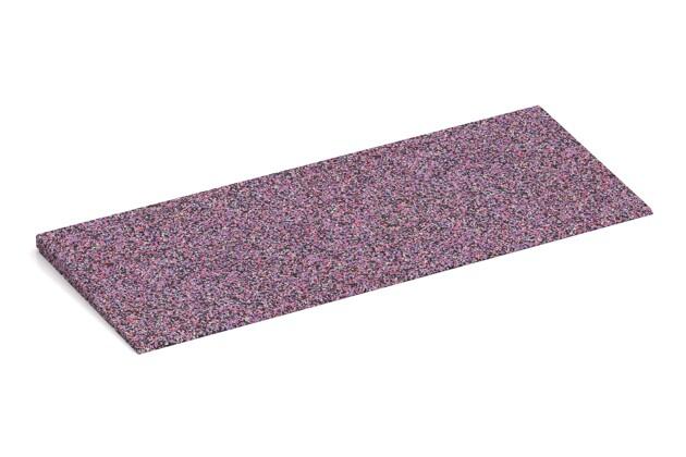 Anti-Stolper-Keil von WARCO im Farbdesign Lavendel mit den Abmessungen 750 x 300 x 25/8 mm. Produktfoto von Artikel 2275 in der Aufsicht von schräg vorne.