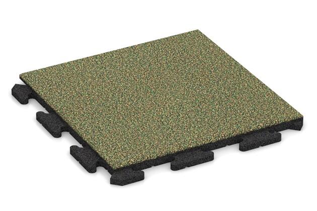 Terrassenplatte von WARCO im Farbdesign Savanne mit den Abmessungen 500 x 500 x 30 mm. Produktfoto von Artikel 1152 in der Aufsicht von schräg vorne.